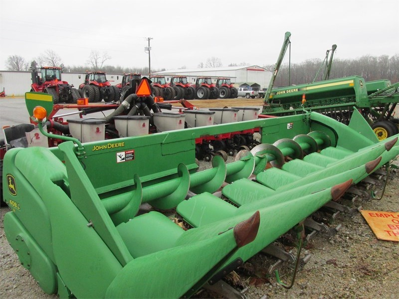 2011 John Deere 608C Header-Row Crop For Sale