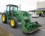 Tractor For Sale: 2001 John Deere 6605, 95 HP