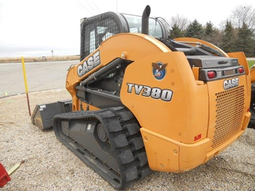 Skid Steer-Track For Sale:  2012 Case TV380