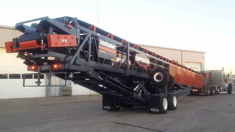 2017 Superior 36X136TSLP Conveyor - Stacking For Sale