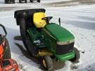 Riding Mower For Sale:  2002 John Deere LX255