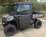Utility Vehicle For Sale: 2018 Can-Am 2018 DEFENDER HD10 W/CAB Silver SKU # 8TJA