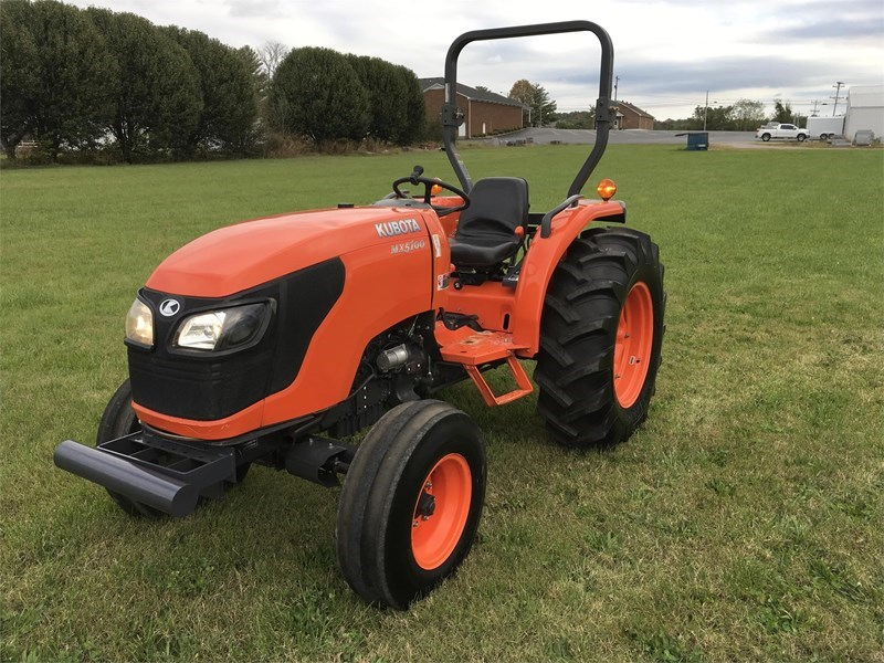 2011 Kubota MX5100F Tractor For Sale