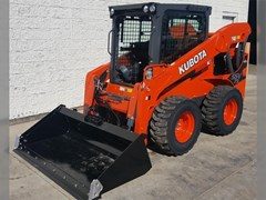 Skid Steer  2017 Kubota SSV75 , 75 HP