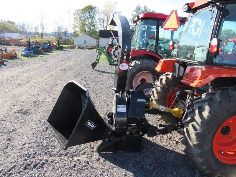 Valby LC600 Chipper-Hand Fed For Sale