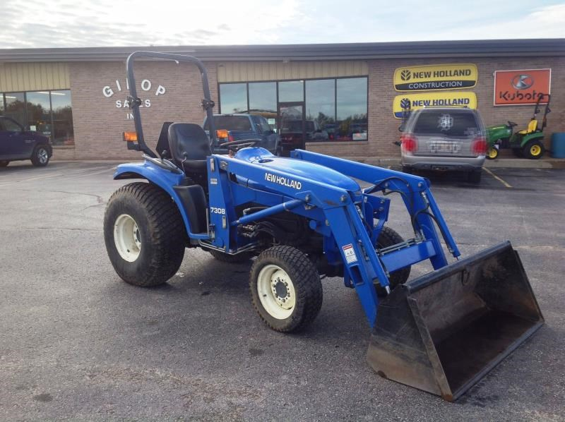 2001 New Holland TC33D Tractor For Sale