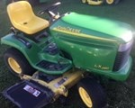 Riding Mower For Sale: 2005 John Deere LX280, 18 HP