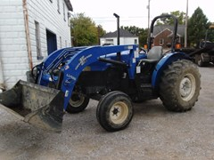 Tractor For Sale 2001 New Holland TN55 , 42 HP
