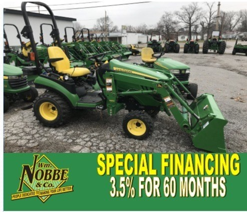 2012 John Deere 1026R Tractor For Sale