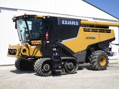 Combine For Sale 2013 Claas 780TT , 543 HP