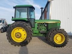 Tractor For Sale 1990 John Deere 4455 , 140 HP