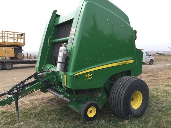 2015 John Deere 569 Prem Baler-Round For Sale