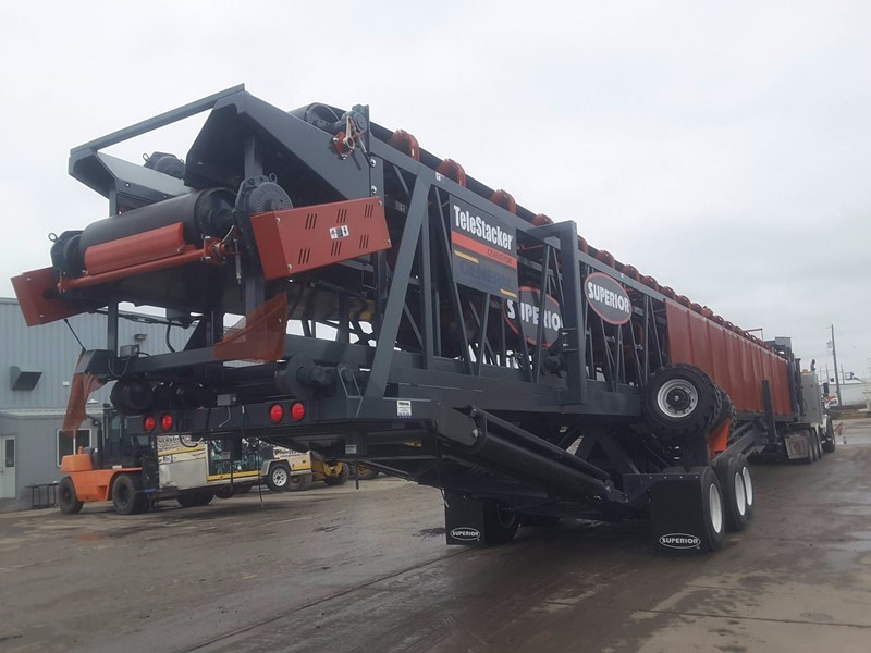 2017 Superior 42X150TSFD Conveyor - Stacking For Sale