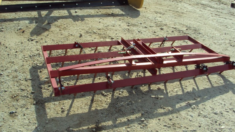 Atlas New 3pt 7ft spike harrow Drag Harrow For Sale