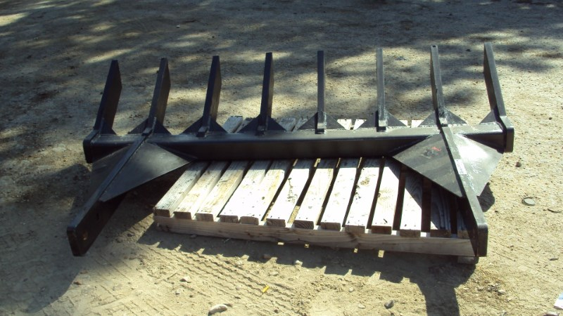 Other 8 foot Heavy duty dozer root rake Rippers For Sale