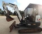 Excavator-Mini : 2012 Bobcat E42M, 42 HP