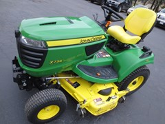 Riding Mower For Sale 2016 John Deere X734 , 25 HP