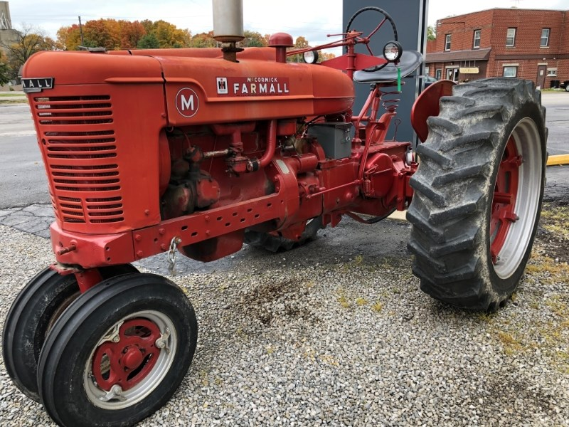 Farmall M Tractor Gauges : International farmall m tractor for sale wellington