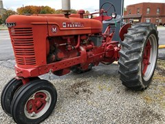 Tractor For Sale 1947 International Farmall M , 36 HP