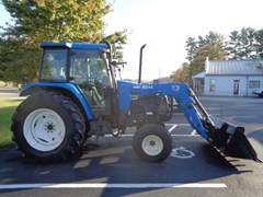 Tractor For Sale 2003 New Holland TS100 , 80 HP