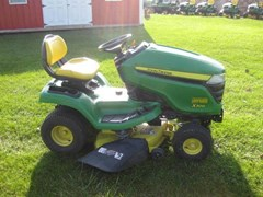 Riding Mower For Sale 2014 John Deere X300 , 18 HP