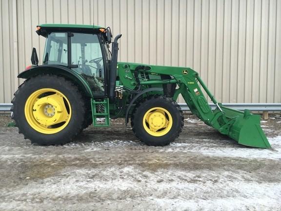 2015 John Deere 6115D Tractor For Sale