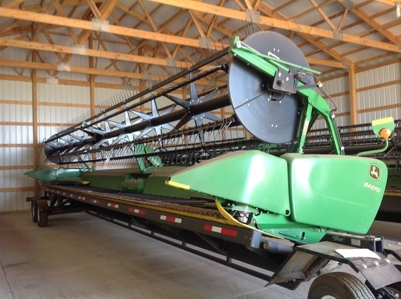 2013 John Deere 640FD Header-Draper/Flex For Sale