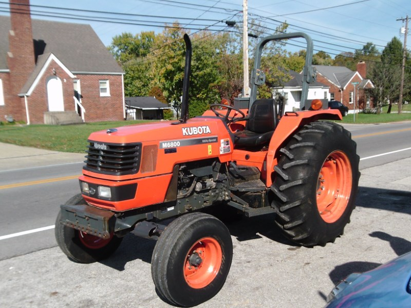 2005 Kubota M6800 Tractor For Sale