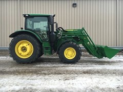 Tractor For Sale:  2016 John Deere 6110R Cab , 110 HP