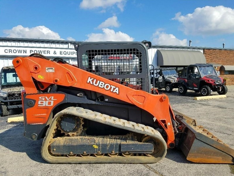2011 Kubota SVL90 Skid Steer-Track For Sale