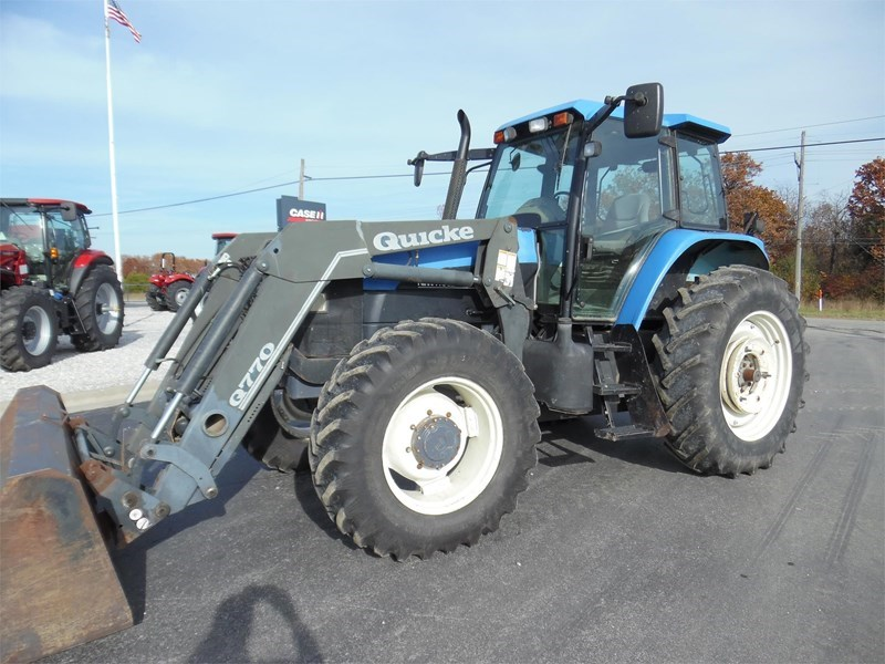 2001 New Holland TM125 Tractor For Sale