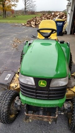 Riding Mower For Sale 2011 John Deere X728 , 27 HP