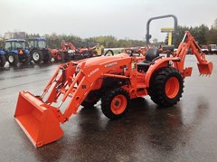 Loader Backhoe For Sale:  2014 Kubota L3301HST , 33 HP