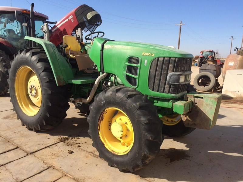 2012 John Deere 6100D Tractor For Sale