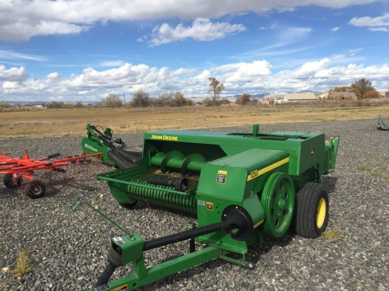 2011 John Deere 328 Baler-Square For Sale