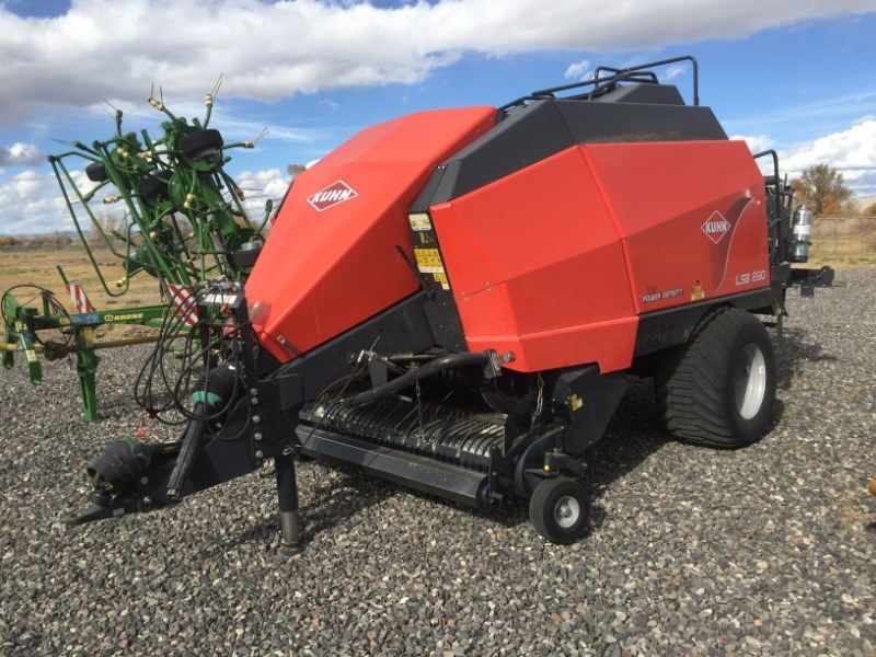 2012 Kuhn LSB890 Baler-Big Square For Sale