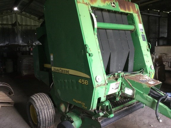 2007 John Deere 458 Baler-Round For Sale