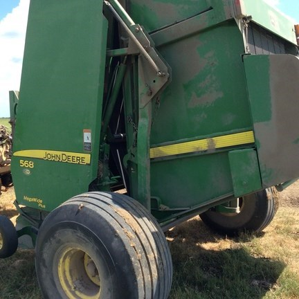 2010 John Deere 568 Baler-Round For Sale