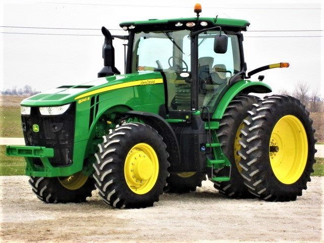 2017 John Deere 8245R Tractor For Sale