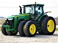 Tractor  2017 John Deere 8345R , 345 HP