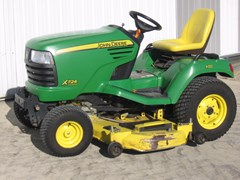 Riding Mower For Sale 2008 John Deere X724 , 25 HP
