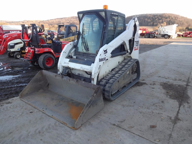 2008 Bobcat T190 Skid Steer-Track For Sale