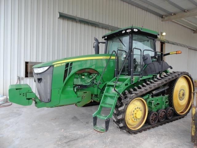 2011 John Deere 8360RT Tractor For Sale