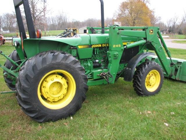 1990 John Deere 2555 Tractor For Sale