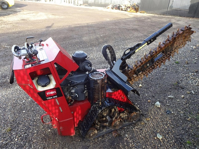 2014 Toro TRX26 Trencher-Rubber Tires