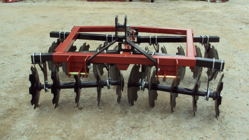 Atlas Heavy duty 3pt 8ft tandem disc harrow 500-20x20 Disk Harrow For Sale