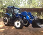 Tractor For Sale: 2014 New Holland T6.165, 125 HP