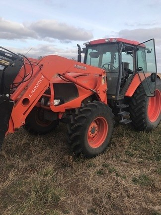 2010 Kubota M135X Tractor For Sale