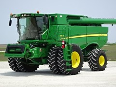 Combine For Sale 2014 John Deere S680 , 475 HP
