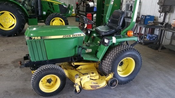 1996 John Deere 755 Tractor For Sale